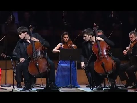 Vivaldi: Concerto for two cellos & strings in G minor 3rd movt.RV 531
