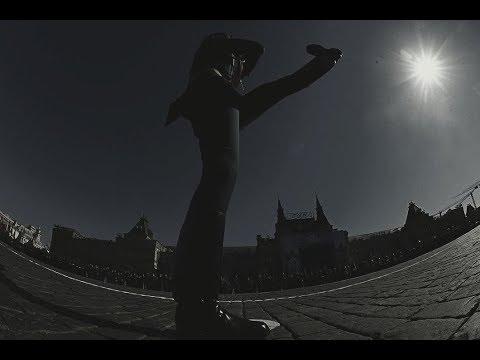 Парад Победы Москва 9 мая 2017. Вынос знамени Победы