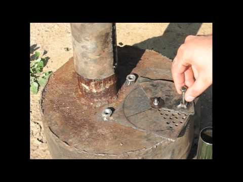 Free energy and heating - waste motor oil stove experiment prototype