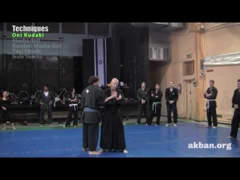 How to do Musha Dori in Randori, Tani otoshi against clinch, Sode Sutemi - Ninjutsu training, AKBAN Image 1