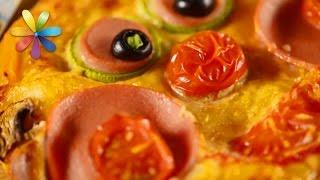 Детские рецепты: готовим пиццу, которую малыш слопает мгновенно