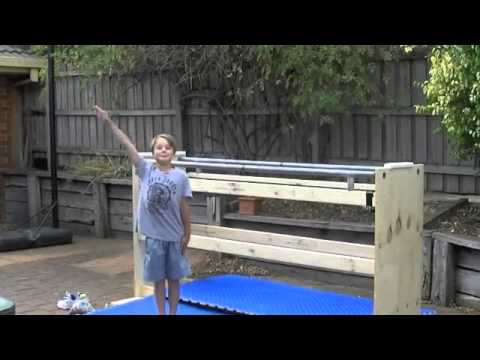 Parallel Bars Diy Homemade Parallel Bars