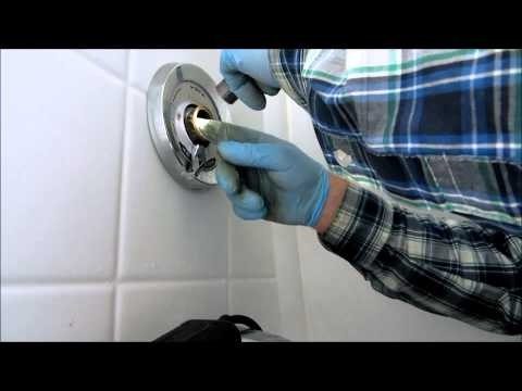 symmons tub@shower leak fixed :plumbing tips