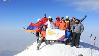 Mount Ararat Climb with Arevi 2014