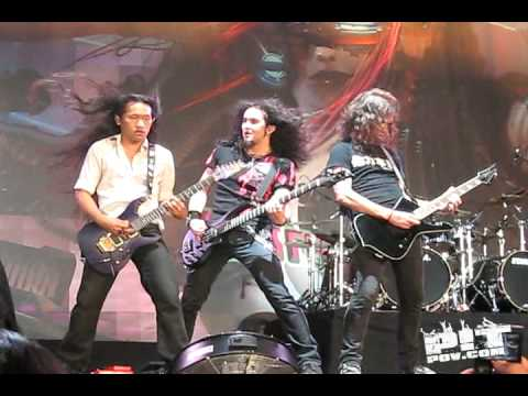 DRAGONFORCE Through the Fire and the Flames Guitar Solo• ROCKSTAR MAYHEM • Dallas Texas 2008 PIT