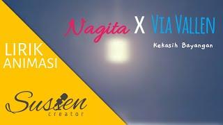 Nagita feat via vallen - Kekasih Bayangan ( Lyrics + Animation )