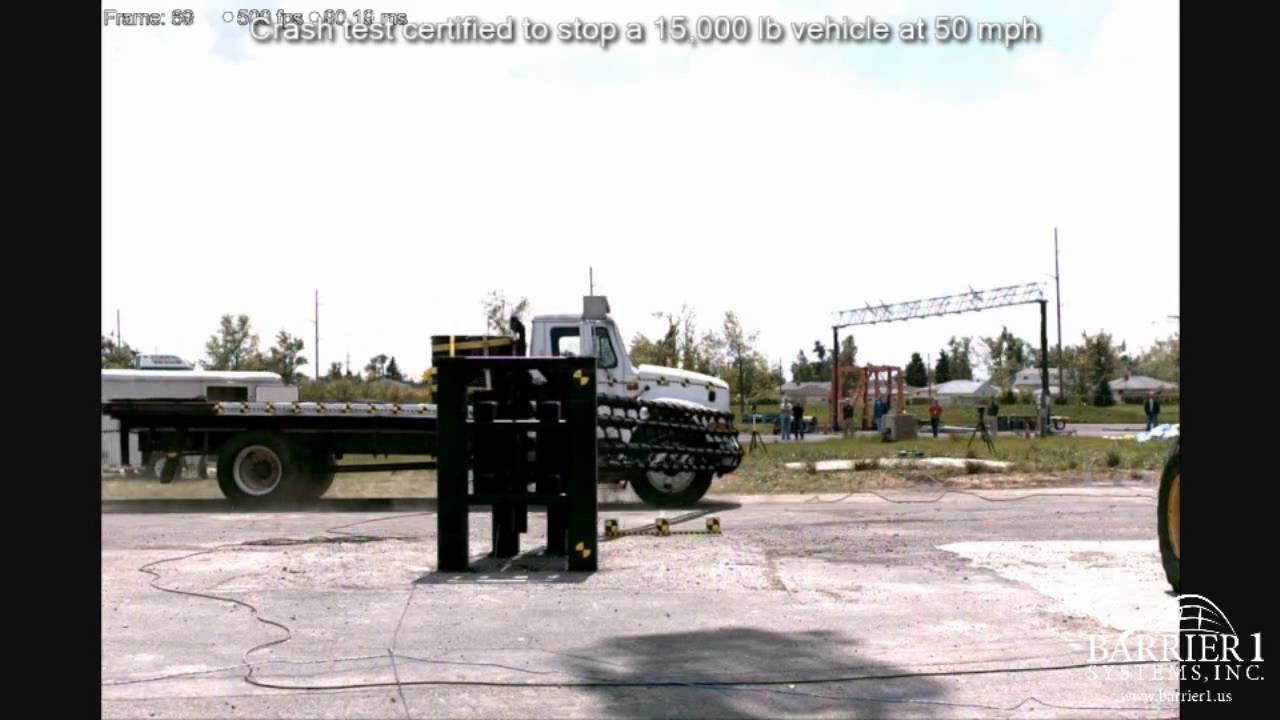 Vehicle Crash Testing Crash Test-vehicle Arrestor