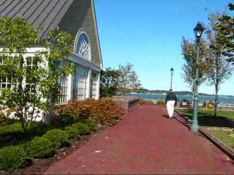 Virginia travel: Historic Yorktown - attractive shopping district