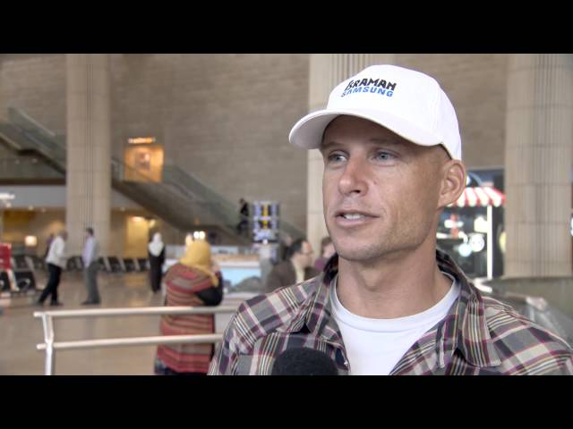כריס ליאטו - ראיון ראשון לקראת ישראמן 2013