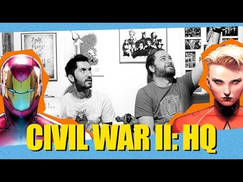 Nerd+ Quadrinhos - EP 01 - Guerra Civil II (Marvel Comics)