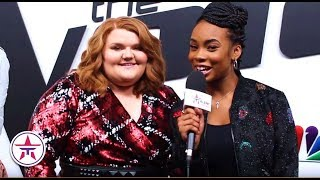 The Voice Kennedy Holmes Makenzie Thomas Are Ready For Voice Top 4
