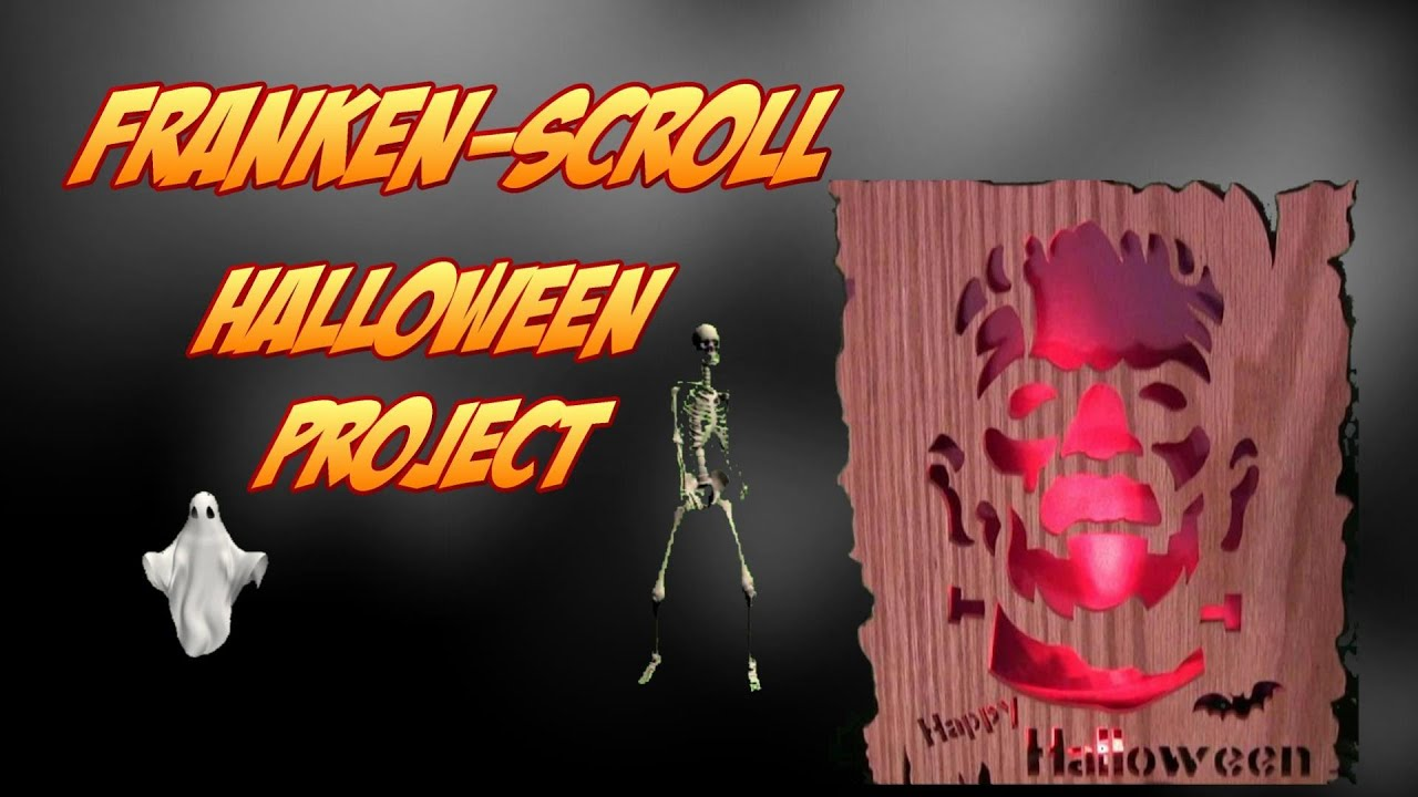 Halloween Woodworking: Project Frankenstein Silhouette Scroll Saw ...