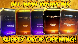 BLACK OPS 3 *ULTIMATE* SUPPLY DROP OPENING! NEW WEAPONS, SNIPER, MELEE, & MORE! (BO3 Opening)