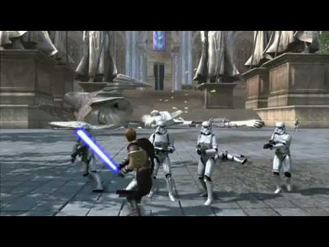 "E3 2010 Star Wars Xbox 360 Kinect Gameplay Demo ""Apprentice VS Vader"" [HD]"