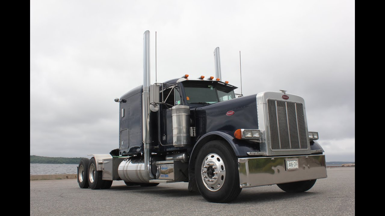 "Freightliner Trucks For Sale >> 2004 Flat Top Peterbilt 379, 475 Cat Motor, 280"" Wheelbase ..."