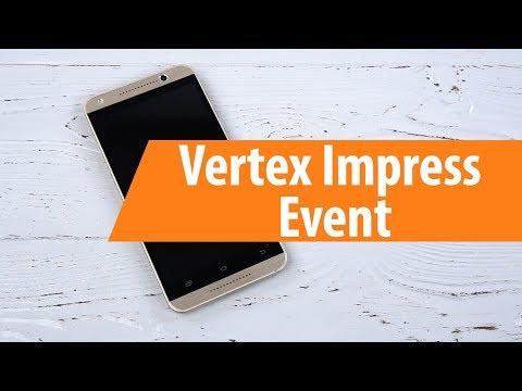 Распаковка Vertex Impress Event / Unboxing Vertex Impress Event