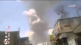 استهداف ألوية الصواريخ التابعة لميليشيا الحوثي صالح في فج عطان