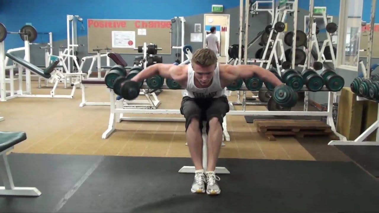 Viewing gallery for dumbbell bent over lateral raise