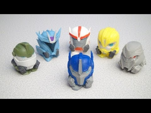TRANSFORMERS PRIME MASHEMS VIDEO REVIEW