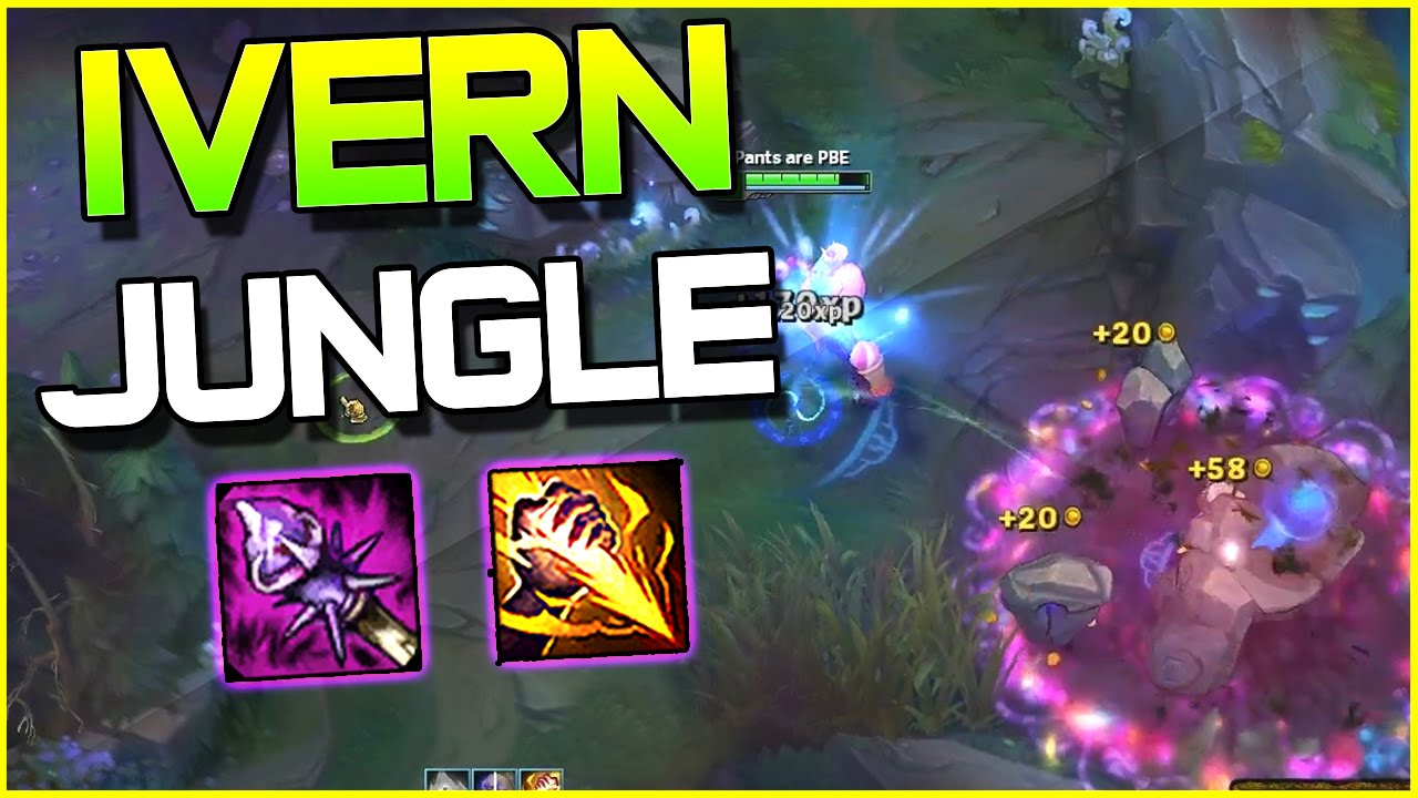 IVERN JUNGLE OP GAMEPLAY? | League of Legends
