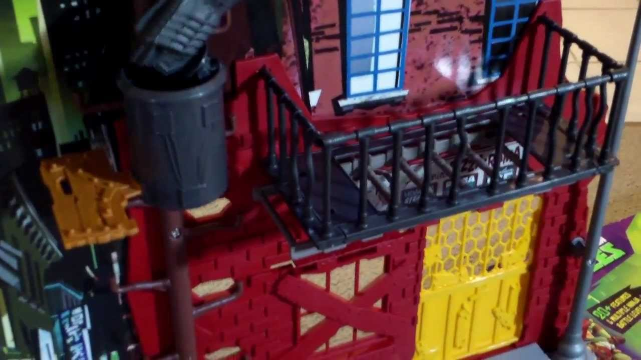 Tmnt lair playset toy kid review youtube