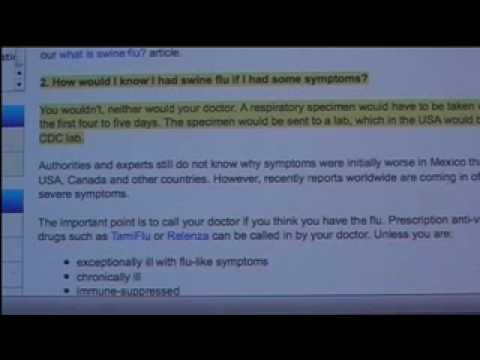 FLU bioweapon WHO attempted mass  genocide part 4