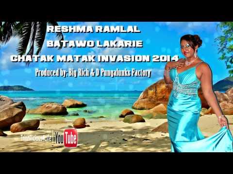 Reshma Ramlal - Batawo Lakarie  Chatak Matak Invasion 2014...