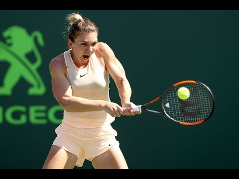 2018 Miami Day 5 | Shot Of The Day | Simona Halep