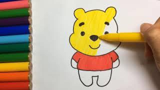 Rửa mặt như mèo - Nhạc thiếu nhi sôi động vui nhộn hay nhất - Hướng dẫn bé vẽ Chú Gấu  Teddy