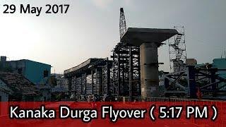 [ BIKE VIEW ] Vijayawada Kanaka Durga Flyover Works - 29 May 17