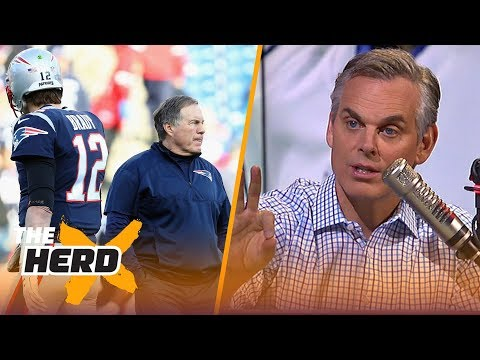 Colin on Brady considered 'divorce' from Belichick, Tomlin losing momentum | NFL | THE HERD