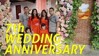 HAPPY 7th WEDDING ANNIVERSARY BUNDA ASHANTY DAN MAS ANANG HERMANSYAH