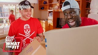 Moving with Pete Davidson and Kevin Hart