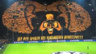 3D choreo Borussia Dortmund vs Málaga Champions League 09-04-2013 Full HD