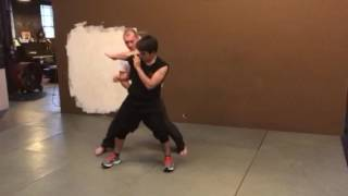 Wing Chun against front kick