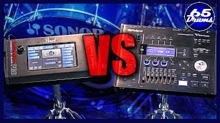 The Two Most Expensive Drum Modules In The World! Roland TD50 VS Pearl Mimic Pro