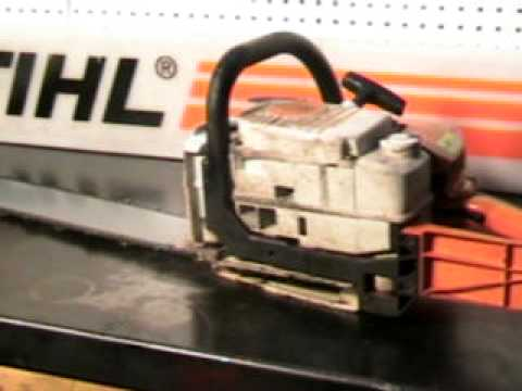 The chainsaw guy shop talk Stihl MS 310 chainsaw 2 16.AVI