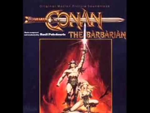 Lagu Conan The Barbarian - (Soundtrack)