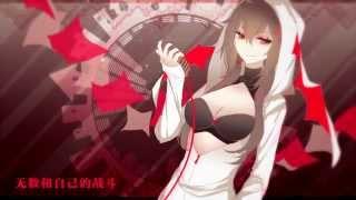 [夏霜(Xia Shuang)]Scarlet Drop[UTAU Chinese cover]+UST
