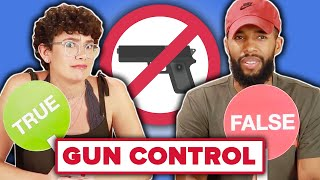 Americans Play True Or False: Gun Control Edition