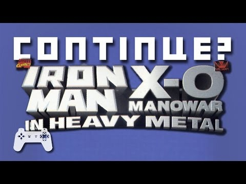 Iron Man X-O Manowar In Heavy Metal (PS) - Continue