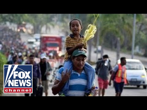 Trump slams Mexico as asylum seekers approach US border
