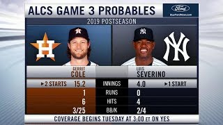 Yankees-Astros ALCS Game 3 Preview