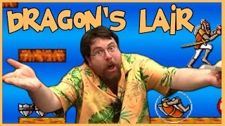 Player of the attic - Dragon's Lair - NES