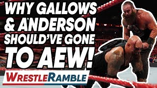 Why Luke Gallows & Karl Anderson Should've Gone To AEW! WWE Raw Aug. 26, 2019 Review | WrestleTalk