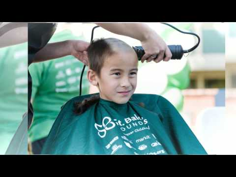 St. Baldrick's Day at Millikan High School 2014