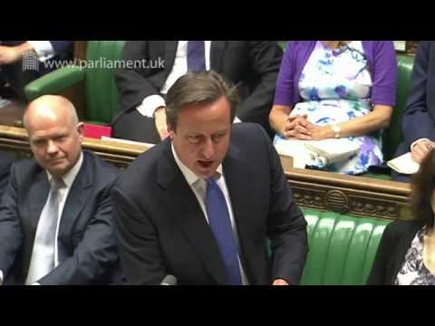 Prime Minister's Questions: 16 July 2014