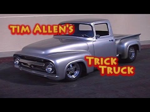 Tim Allen's 56 Ford Hemi Truck from Nelson Racing Engines.