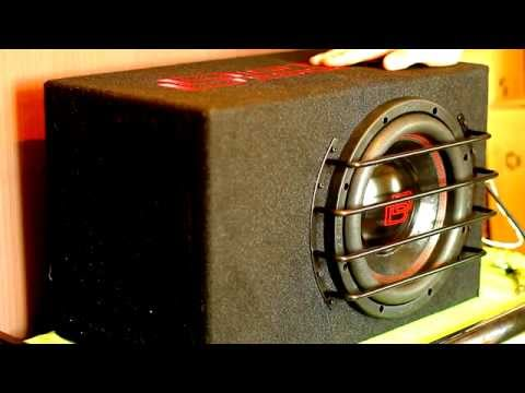 DD LE-M10 subwoofer - Up close and personal