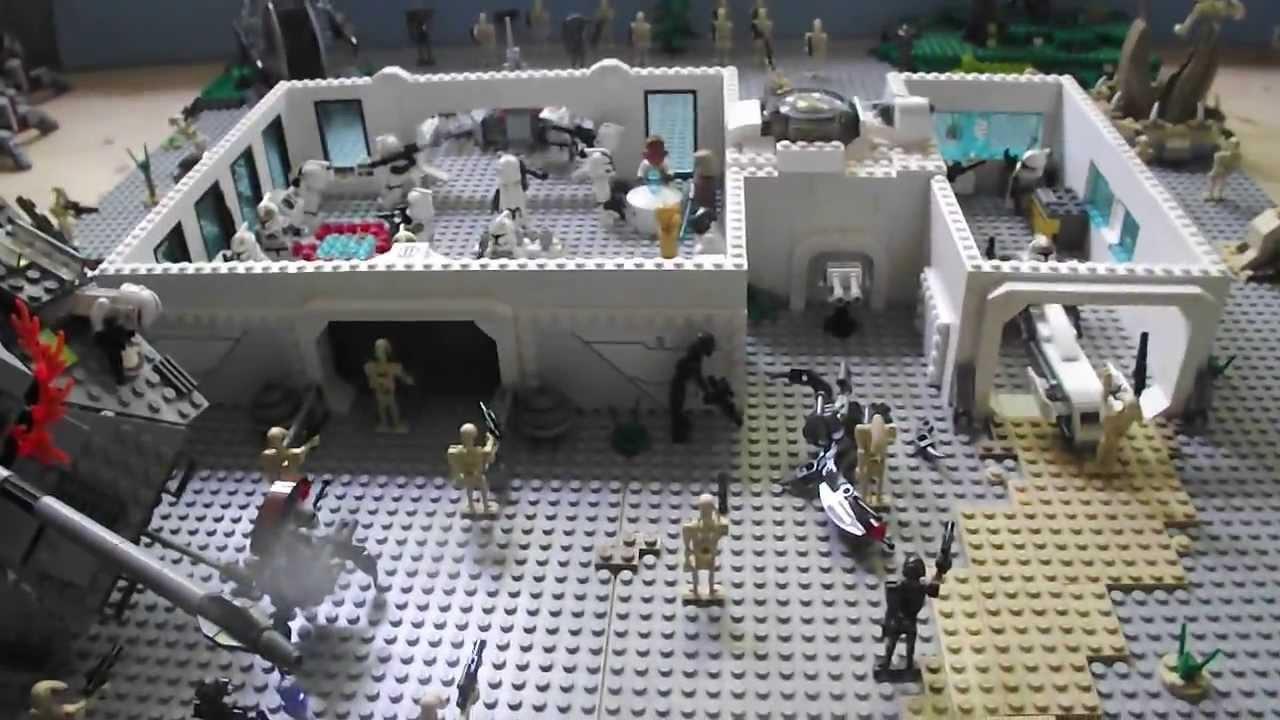 base lego star wars concour de blackstarattack youtube. Black Bedroom Furniture Sets. Home Design Ideas